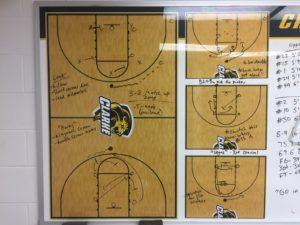 Clarke University Women's Basketball Pregame Routine 2