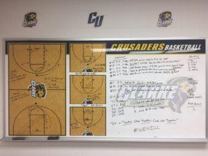 Clarke University Women's Basketball Pregame Routine 4